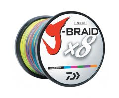 Daiwa J-Braid Multi Colour 1500m