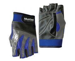 Mustad Half Finger Casting Gloves