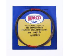 Halco Pre Straightened Stainless Wire 15m