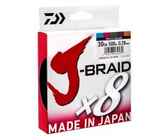 Daiwa J-Braid Multi Colour 500m