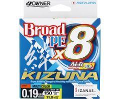 Owner Kizuna X8 PE Braid Multi 300m