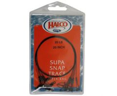 Halco Supa Snap Traces 20""