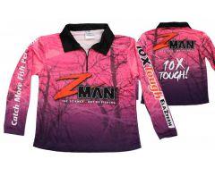 Zman Pink Tournament Shirts